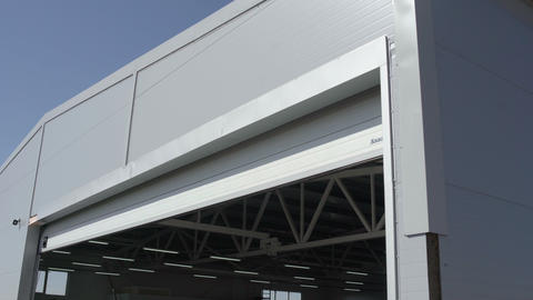 Garage Door Closing Move From Motor Footage