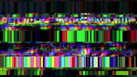 Data Glitch 026: Streaming data malfunction Animation