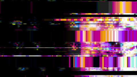 Data Glitch 027: Streaming data distortion Animation