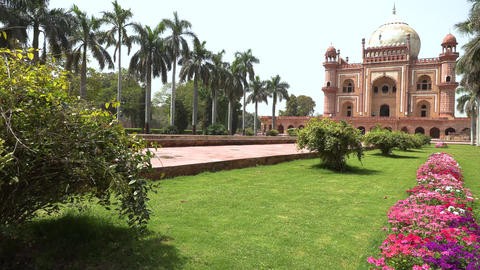 Tomb of Safdarjung in New Delhi, India, 4K footage video Footage
