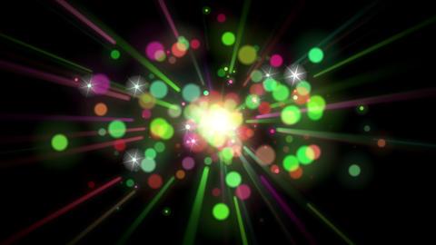 Light FX2048: Christmas lights flare, burst, shine and pop Animation