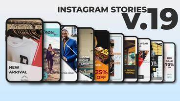 Instagram Stories v 19 After Effects Template