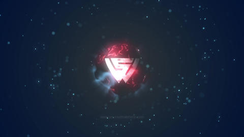 ENERGY BALL LOGO After Effects Template