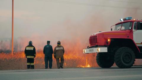 [alt video] Fire Engine Life Rescue Brigade Emergency Event