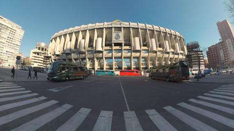 Santiago Bernabeu Stadium in Madrid, Spain Archivo