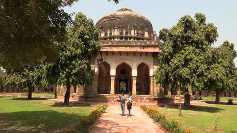 Sheesh Gumbad - tomb from the last lineage of the Lodhi garden - it is situated Archivo