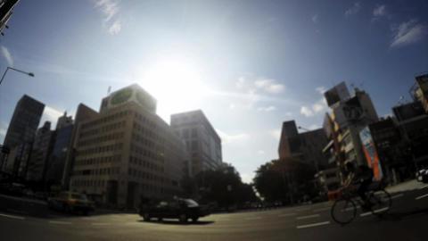 Omotesando intersection image, time lapse Footage