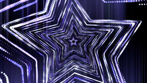 Stars Glitter Shine Loop Vj Tunnel Stock Video Footage