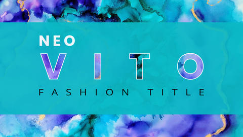 Neo Vito Fashion Title After Effects Template