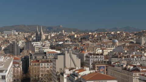 Architecture of Marseille, France Footage