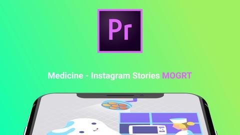Medicine - Instagram Stories モーショングラフィックステンプレート