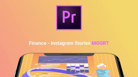 Finance - Instagram Stories モーショングラフィックステンプレート