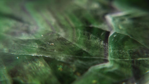 Fluorite Green Stone Texture Rotating Live Action