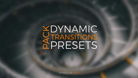 Dynamic Transitions Pack Premiere Proテンプレート