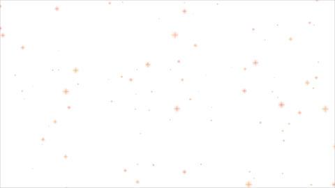 キラキラ光る背景 CG動画