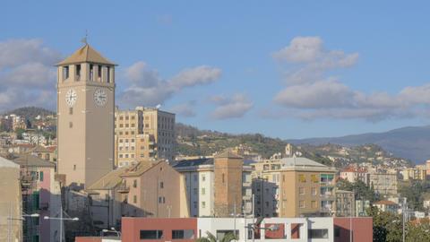 Savona cityscape with Torre del Brandale Archivo