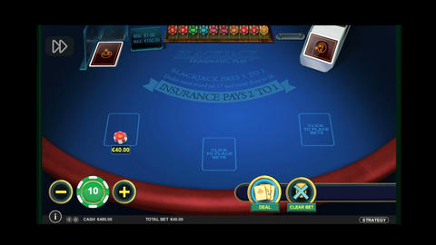 Play In Blackjack Card Game Online Live Action
