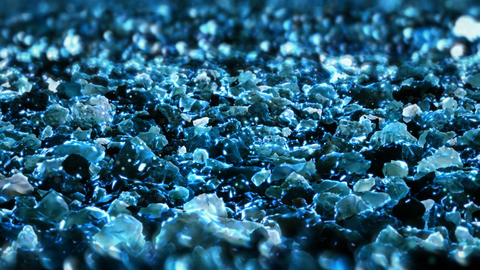 Blue Shiny glitter seamless loop abstract texture close up macro background Animation