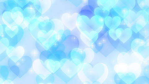 Heart-pastel-lateral-loop-blue Animation