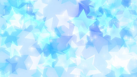 Star-pastel-lateral-loop-blue Animation