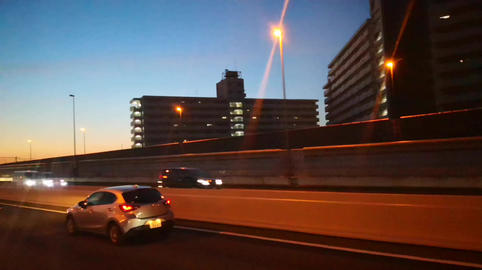 Sunset highway japan Archivo