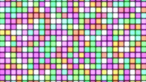 mov81_mosaic_light_loop_04 CG動画