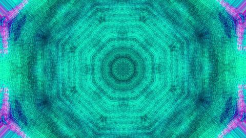 Multi-colored ornaments, dreamy futuristic psychedelic iridescent background Footage