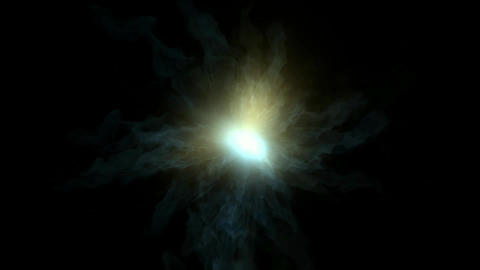 light wave pulse from vortex tunnel hole in universe Stock Video Footage