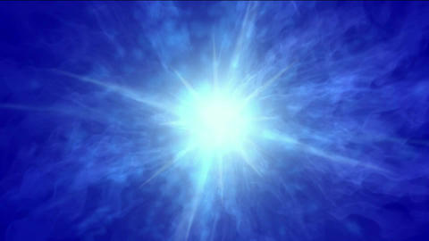 dazzling rays laser pulse & explosion electron... Stock Video Footage
