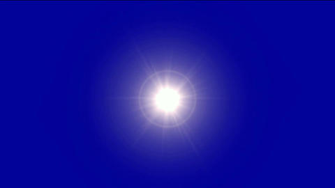 dazzling rays light from halo, Ultra-energy field in space Animation