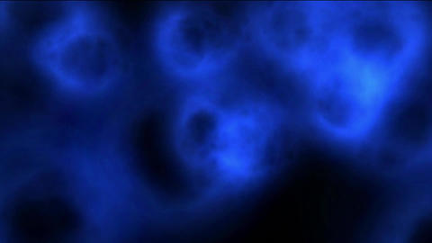 many billowing smoke vortex shaped holes as Parallel... Stock Video Footage