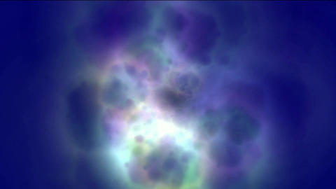 nebula & galaxy,color energy magnetic pulse in cosmos Animation