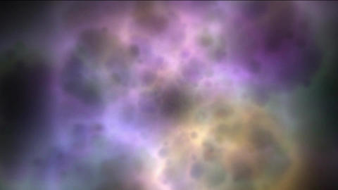 nebula & galaxy,color energy magnetic pulse in cosmos Stock Video Footage