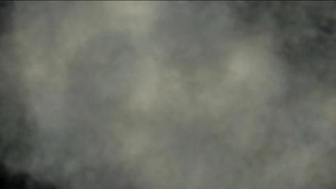 scene of an explosion smoke in battle Stock Video Footage