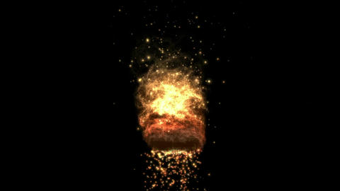 fireworks & explosion sparkle particles,lava fireball & energy magnetic  Animation