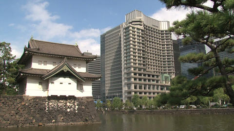 Imperial palace 04 Footage