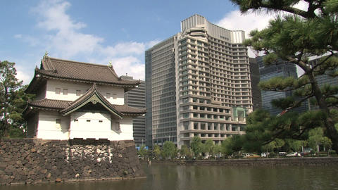 Imperial palace 04 Stock Video Footage