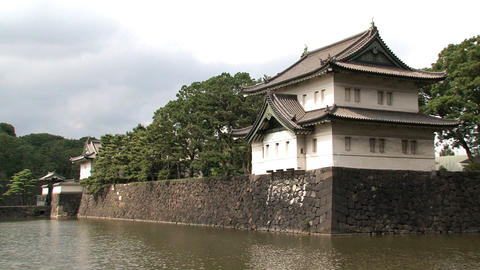Imperial palace 06 Stock Video Footage