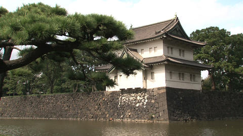 Imperial palace 08 Stock Video Footage