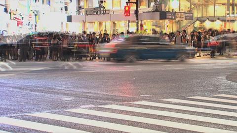 Shibuya Crossroad 02 Footage
