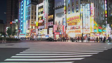 Shinjuku 03 Stock Video Footage