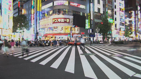 Shinjuku 05 Stock Video Footage
