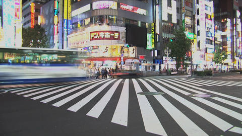 Shinjuku 05 Stock Video Footage