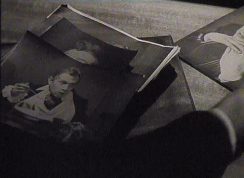 Newsreel, Old photos Stock Video Footage