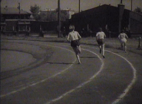 Physical training and sports in the USSR. Newsreel Live Action