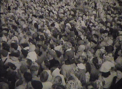 The people on the square Stock Video Footage