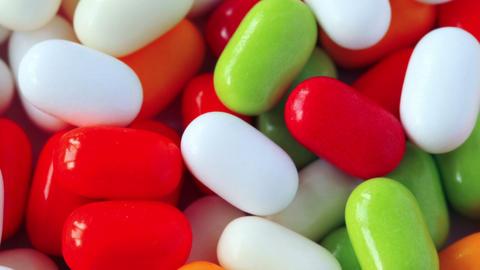 Medicine Pills. Shot Slider Stock Video Footage