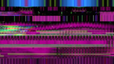 Data Glitch 044: Streaming data malfunction Animation