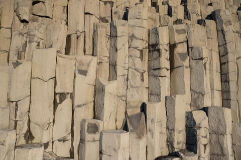 Background image, basalt rocks Fotografía