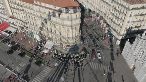 A shadow of a Marseille Ferris wheel Archivo